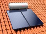 Ηλιοθερμικό BOSCH 200lit για ταράτσα