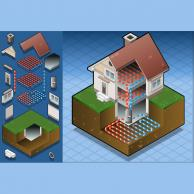 Αντλίες θερμότητας, γεωθερμικές νερού - νερού