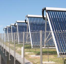 Ηλιακή επικουρική θέρμανση